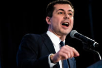 Democratic presidential candidate Mayor Pete Buttigieg