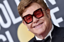 Sir Elton John attends the 77th Annual Golden Globe Awards at The Beverly Hilton Hotel on January 05, 2020.