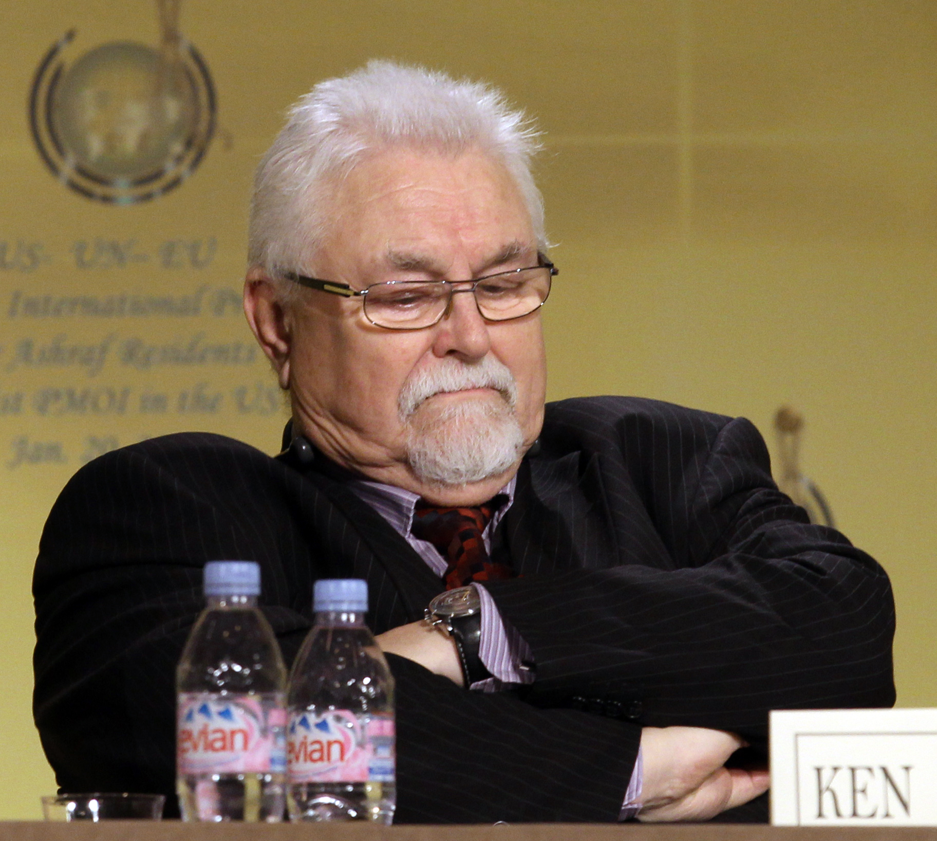 Lord Maginnis, member of the House of Lords.