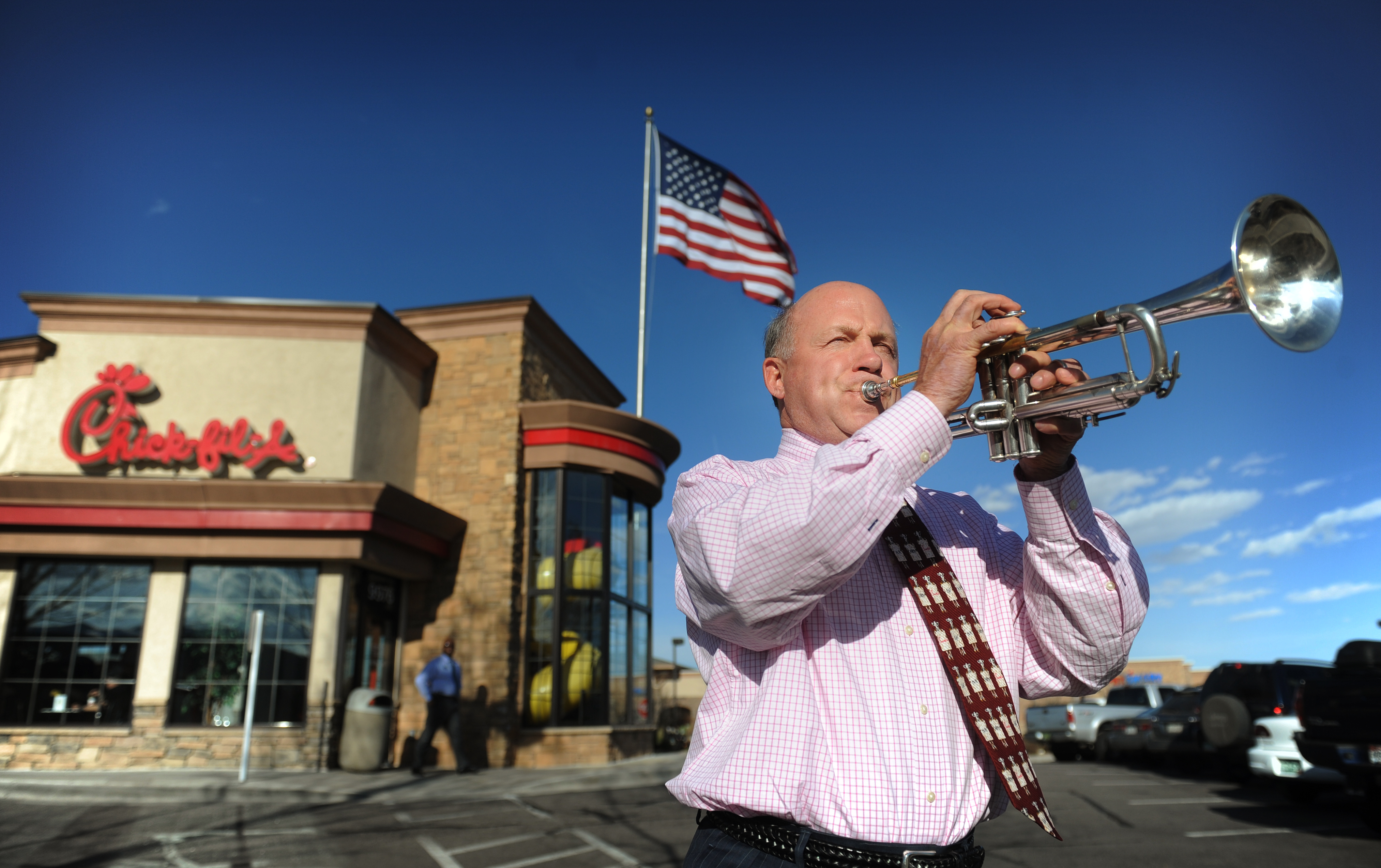 Chick-fil-A president Dan Cathy, son of the chain's founder Truett Cathy