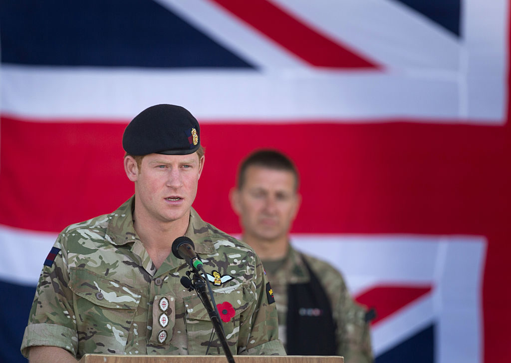 Gay soldier recounts how Prince Harry stepped in to protect him from homophobic abuse