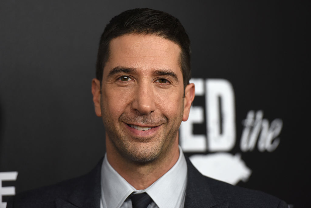 Friends star David Schwimmer wants you to know he's aware of his privilege as a white, straight man