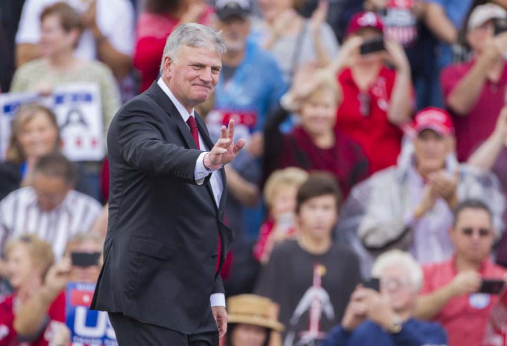 Pro-Trump hate preacher Franklin Graham