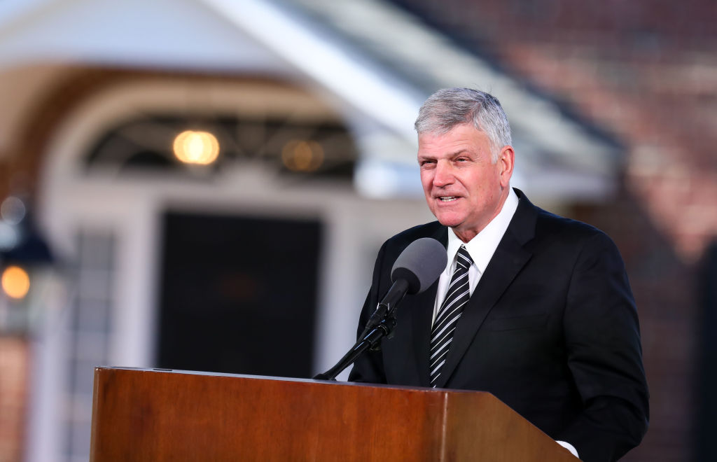 US anti-LGBT preacher Franklin Graham