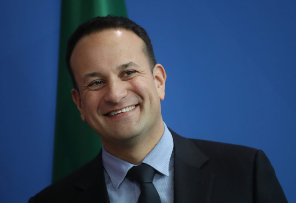 Irish Prime Minister Leo Varadkar. (Sean Gallup/Getty Images)