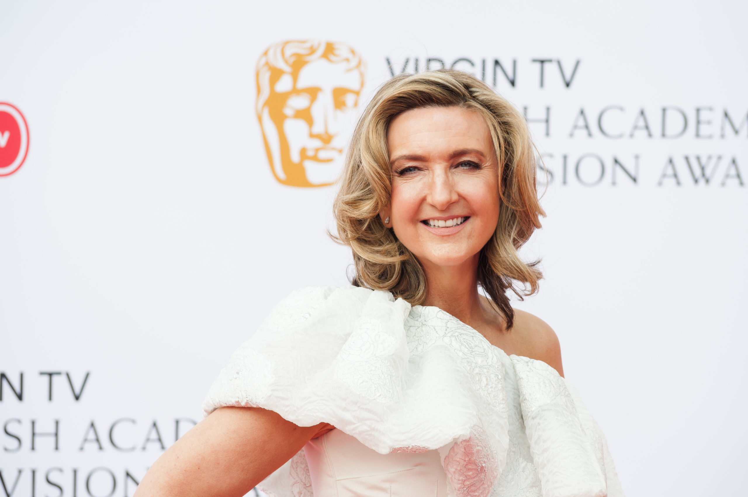 Victoria Derbyshire attends the Virgin TV British Academy Television Awards ceremony at the Royal Festival Hall on May 13, 2018 in London, United Kingdom. (Wiktor Szymanowicz / Barcroft Media via Getty Images)