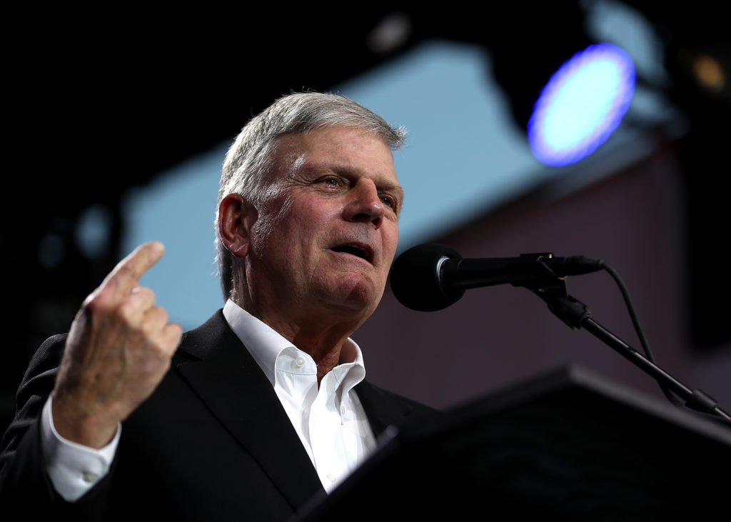 Hate preacher Franklin Graham
