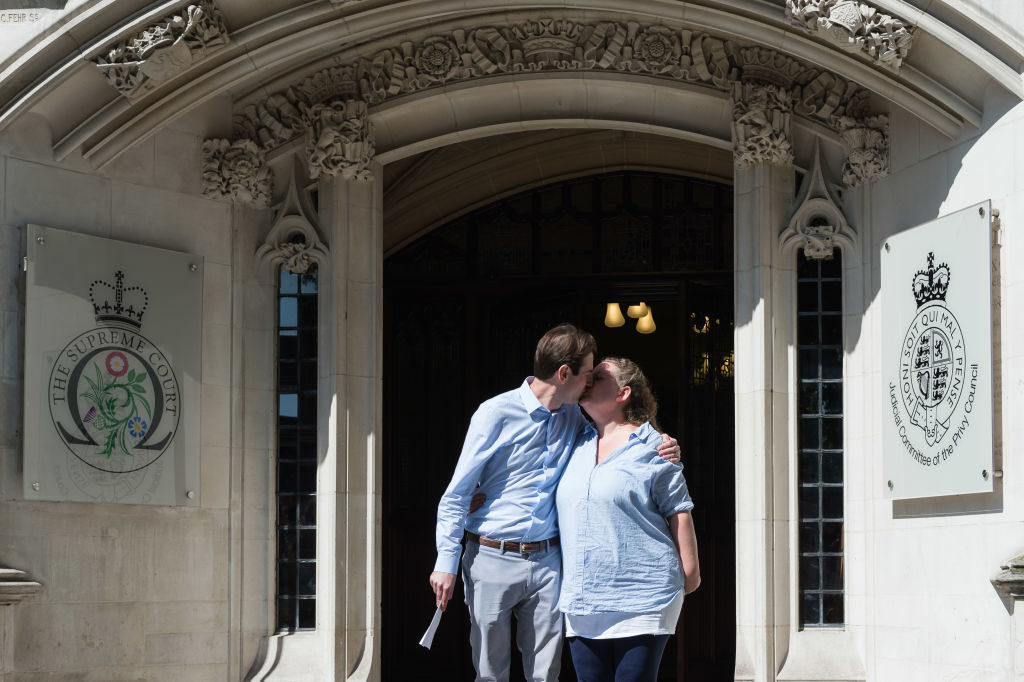 The first heterosexual civil partnerships have taken place