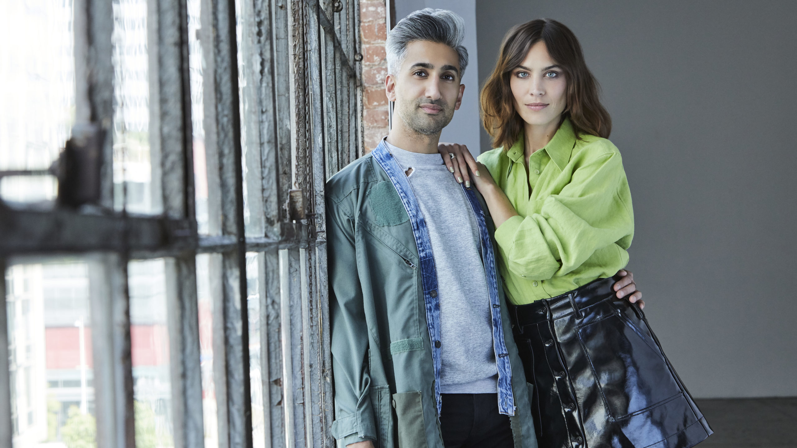 Tan France And Alexa Chung On Being Queer In The Fashion Industry