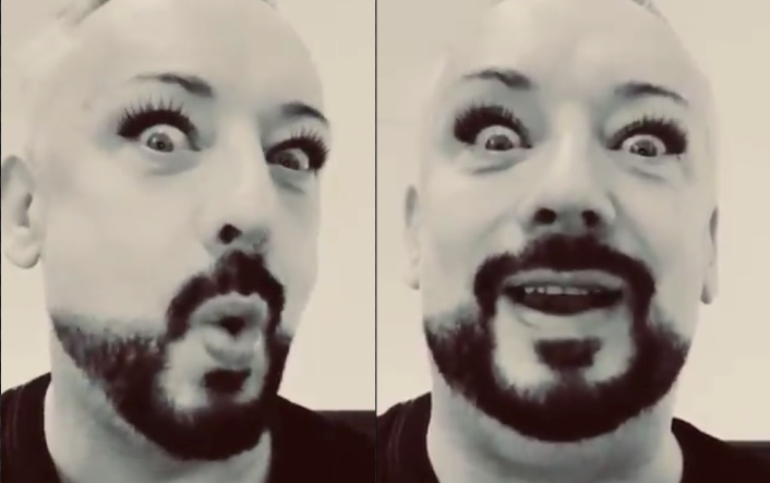 Boy George responds to 'transphobia' backlash in the absolute worst way