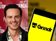 Actor Andrew Scott made headlines... for being a gay man who used gay dating app Grindr to snag a date with another gay man. (Amanda Edwards/Getty Images/Rafael Henrique/SOPA Images/LightRocket via Getty)