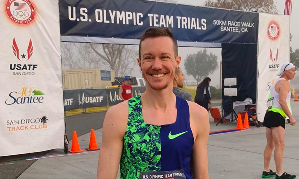 Chris Mosier claims historic first for a trans athlete at US Olympic trials