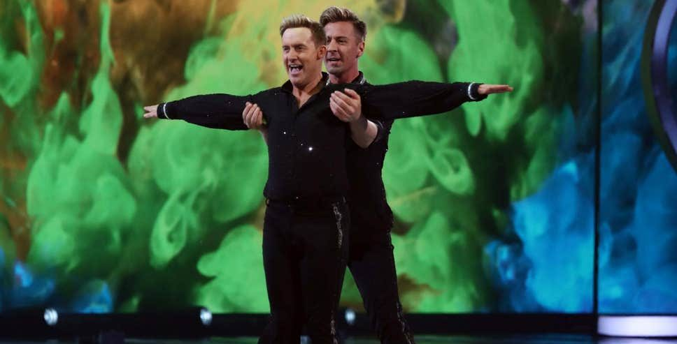 Steps singer Ian H Watkins same-sex Dancing on Ice routing with skater Matt Evers