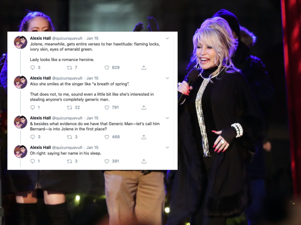 Dolly Parton: Jolene is a queer love story and this Twitter thread proves it