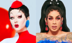 Drag Race season 12 queens Aiden Zhane and Dahlia Sin. (VH1)