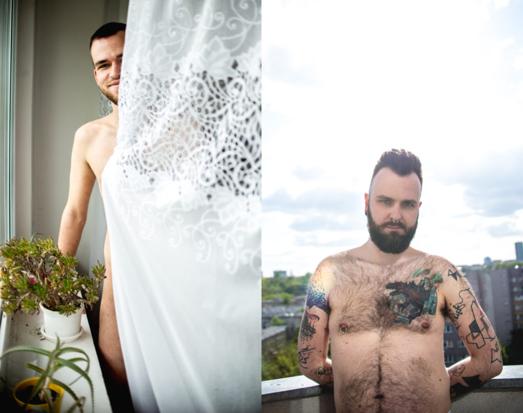 Queer men in Poland strip off to celebrate their sexuality and defy rising homophobia gripping the country