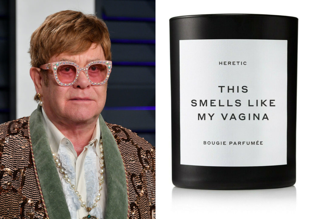 Elton John reportedly bought 'a lot' of Gwyneth Paltrow's vagina candle. Yeah. (Dia Dipasupil/Getty Images/Goop)