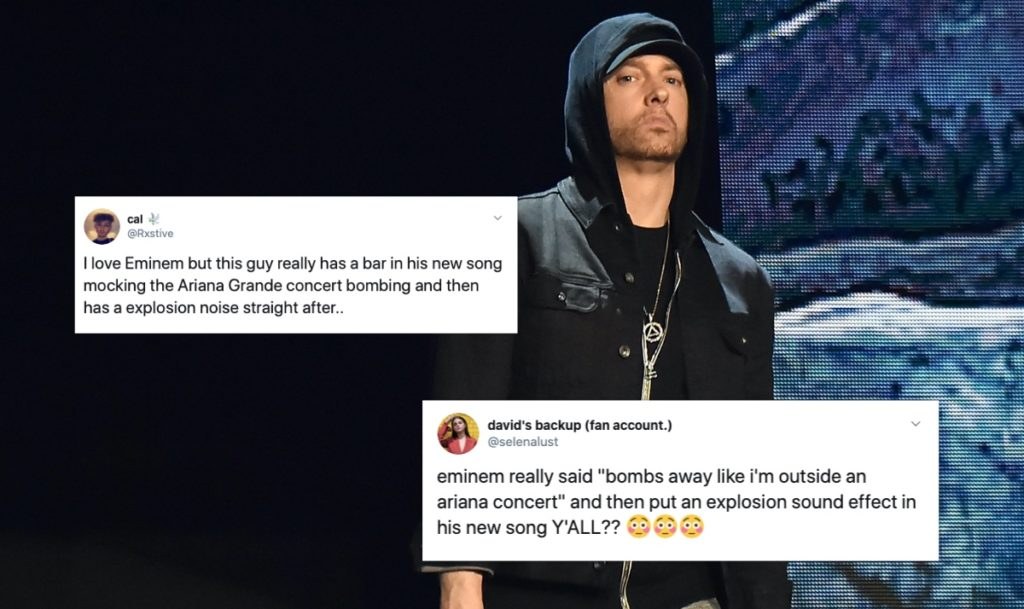 Eminem: Shocking lyric about Ariana Grande terror attack on new album