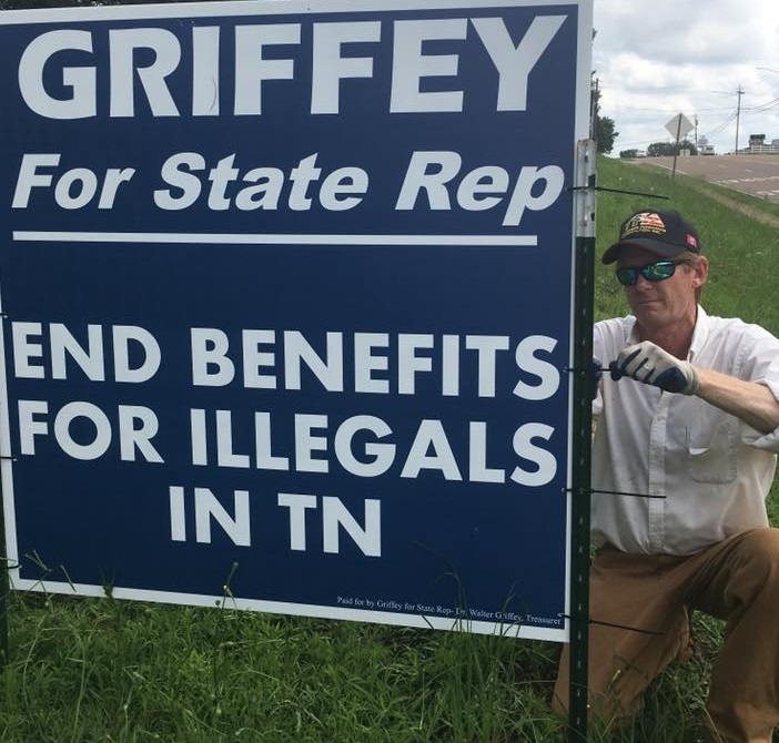 Republican state Rep. Bruce Griffey