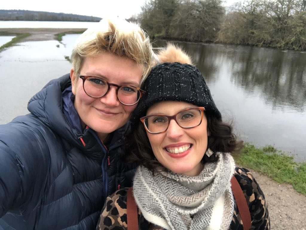 Layla Moran MP and her girlfriend Rosy Cobb, a former Lib Dem press officer