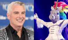 John Barrowman and The Masked Singer's Unicorn