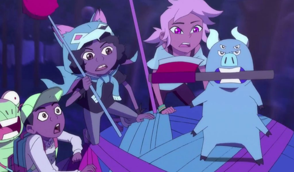 Kipo and the Age of Wonderbeasts features a cute coming out moment