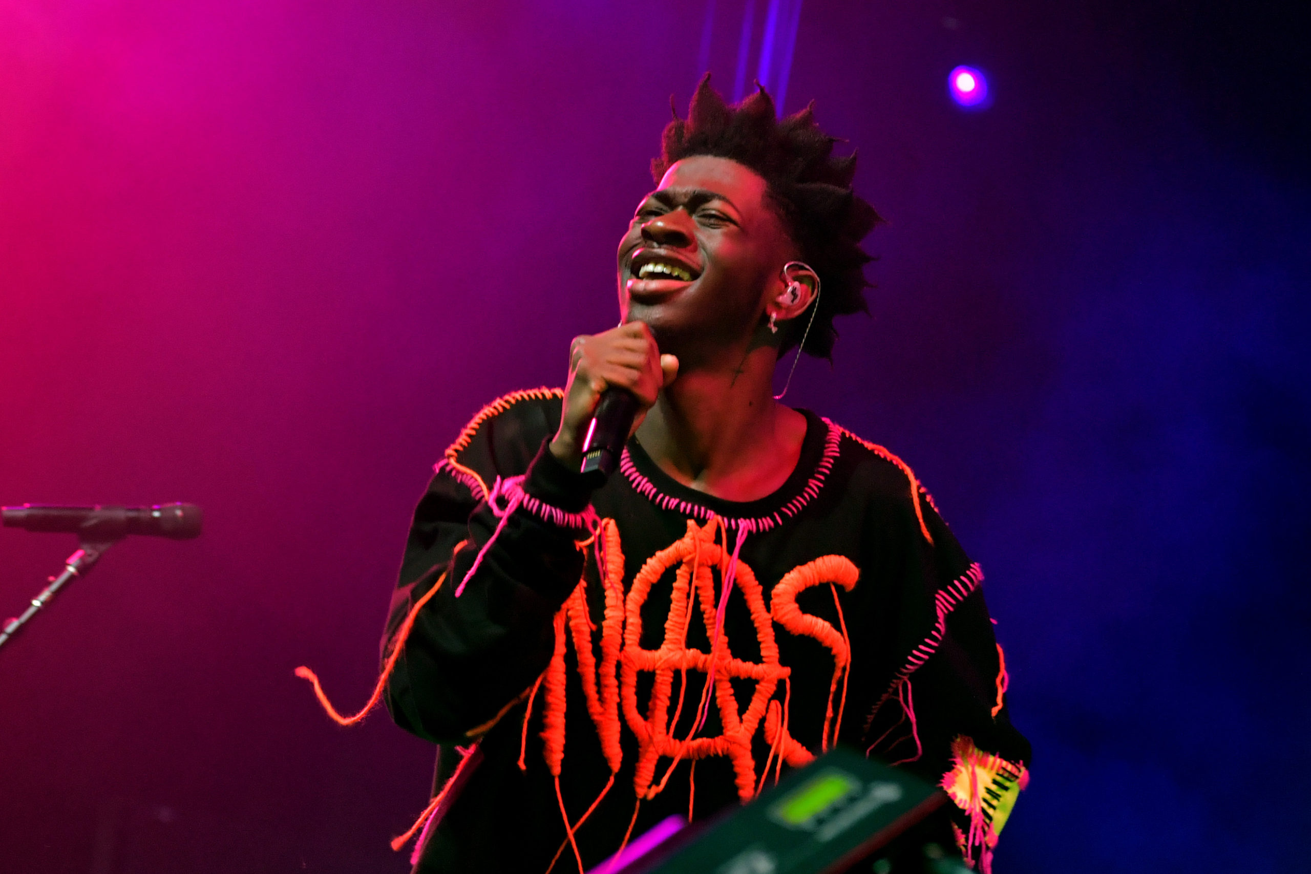 Lil Nas X on stage