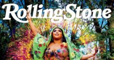 Lizzo appears on the February cover of Rolling Stone
