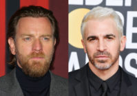 Ewan McGregor (L) and Chris Messina said their characters in Birds of Prey are 'likely' gay. (Baptiste Lacroix/WireImage/George Pimentel/WireImage)