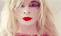 Ajda Ender, a trans woman, has been forced out of her home and unable to work due to threats of transphobic violence against her. (Twitter)
