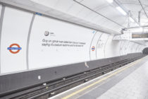 London Underground users may experience second-hand embarrassment as mortifying date stories are splashed on the platform. (Twitter)