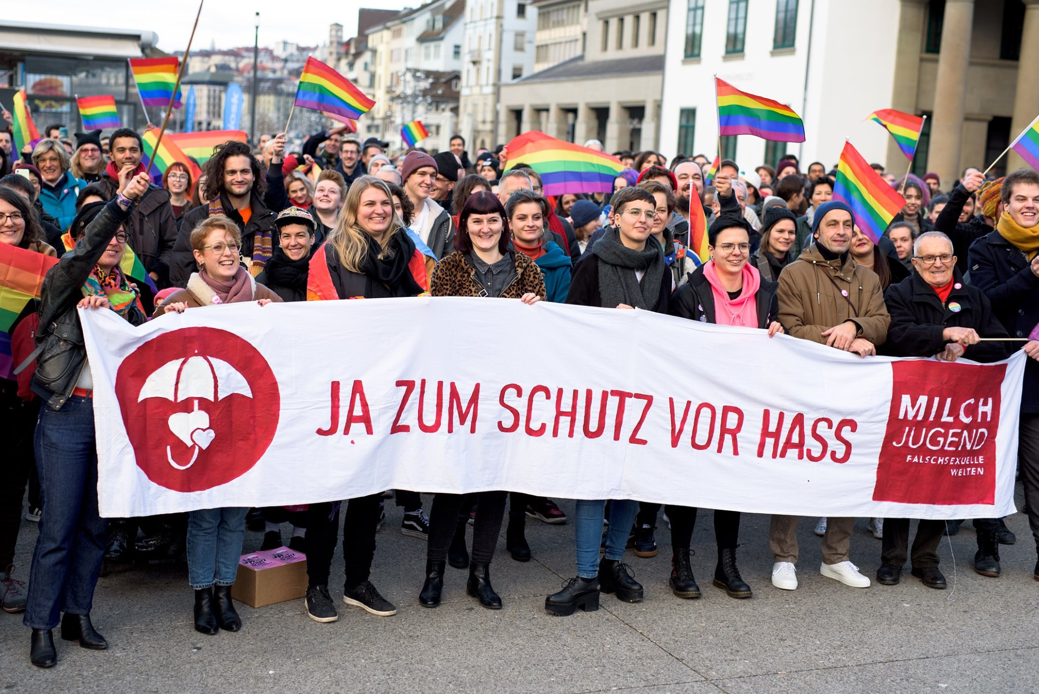 Switzerland voted in favour of the anti-homophobia law