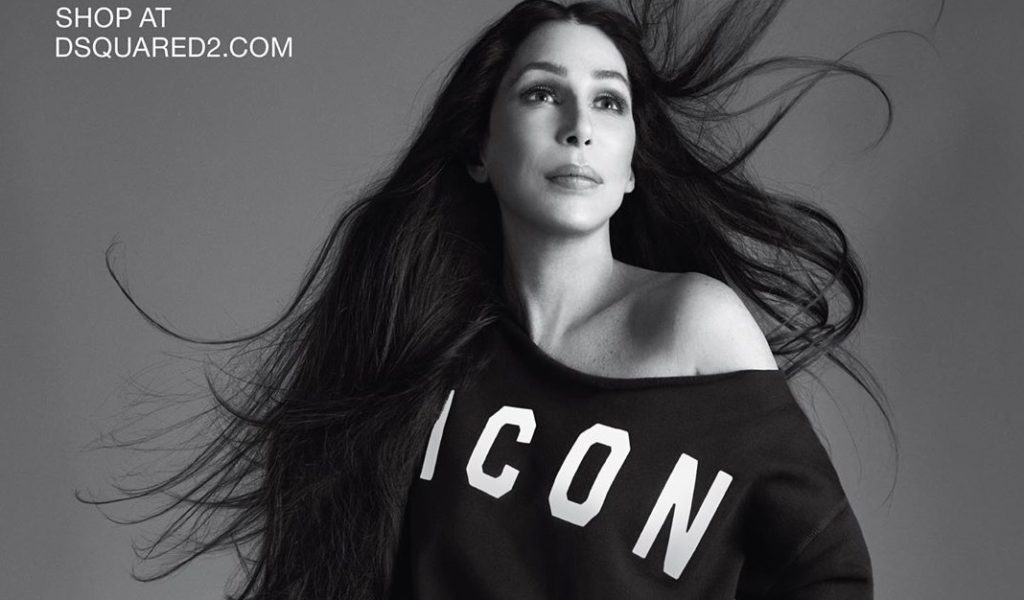 Cher is fronting the new campaign for DSquared2