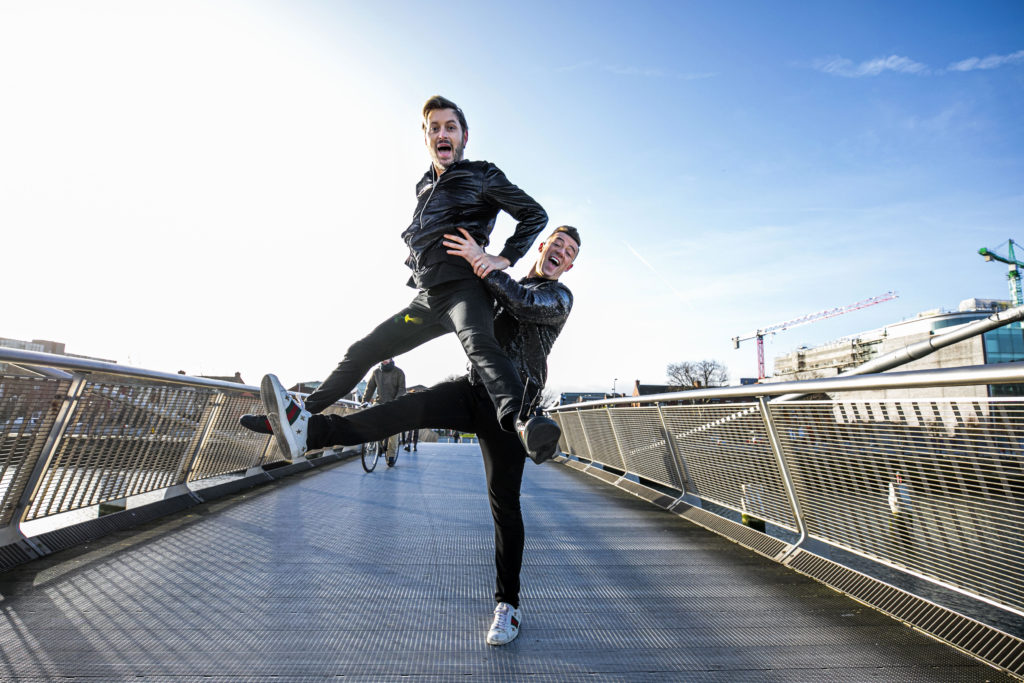 Brian Dowling and Kai Widdrington are one of two same-sex pairings on Dancing with the Stars Ireland