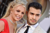 Britney Spears and Sam Asghari. (Axelle/Bauer-Griffin/FilmMagic)