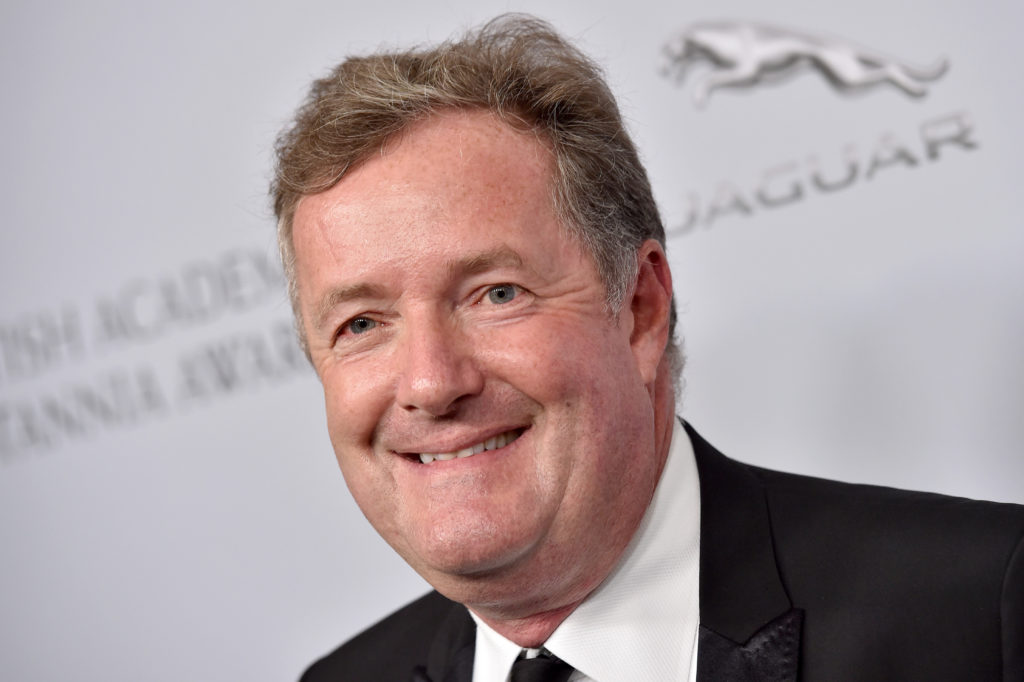 Phillip Schofield joke Piers Morgan attends the 2019 British Academy Britannia Awards. (Axelle/Bauer-Griffin/FilmMagic)