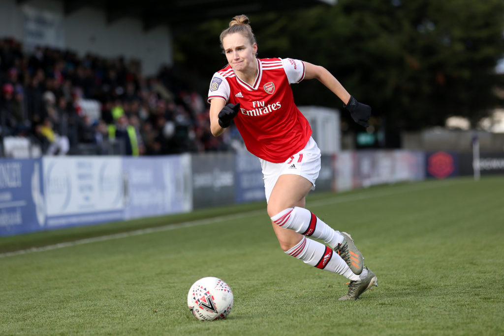 Vivianne Miedema of Arsenal