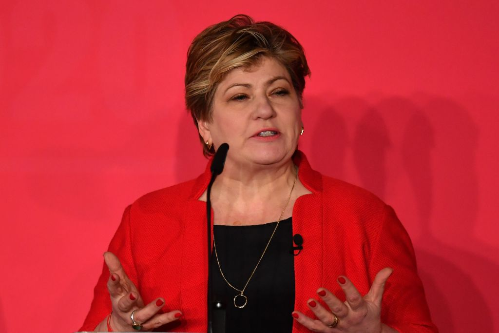 British Labour leadership candidate Emily Thornberry