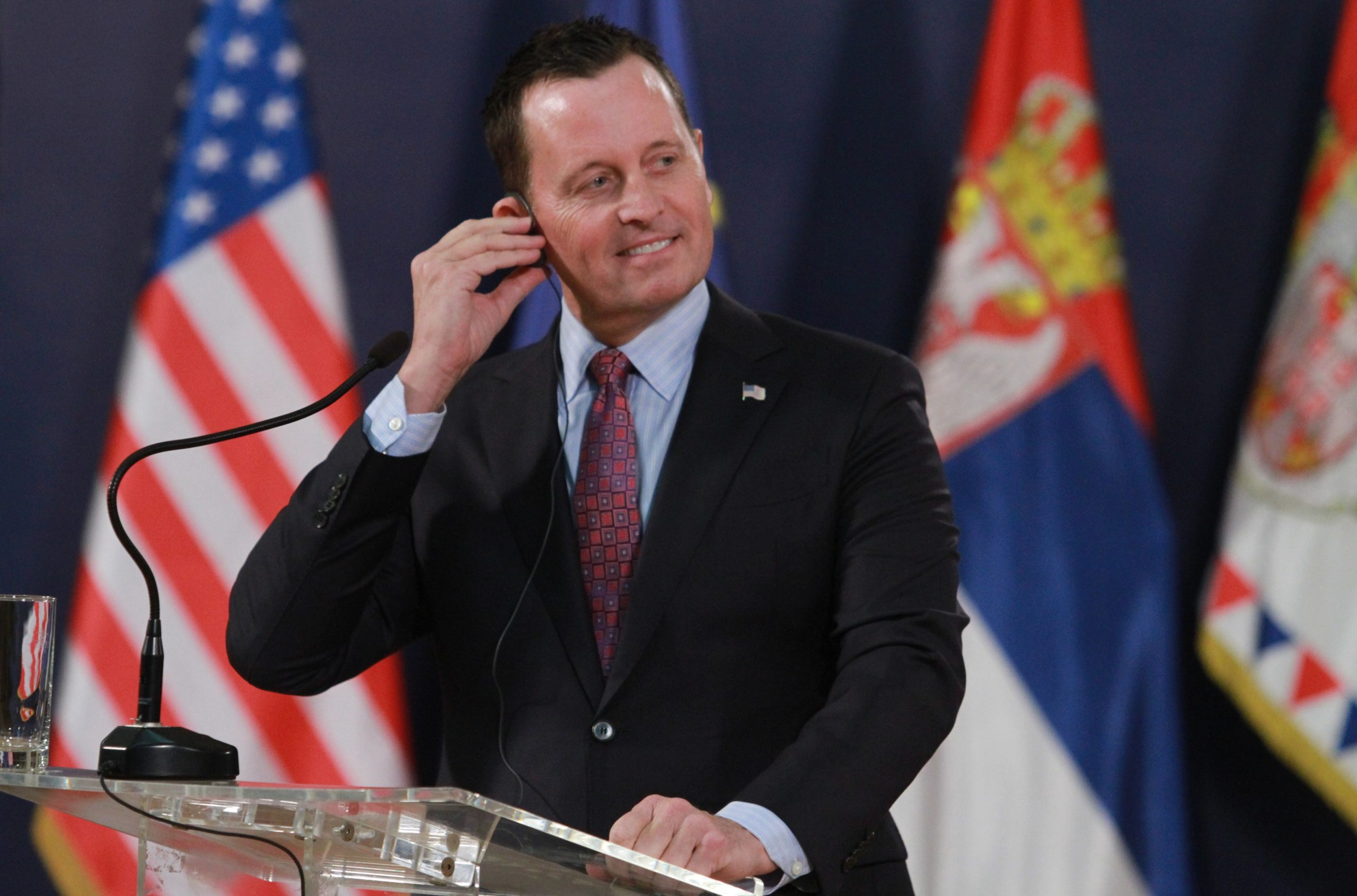 One of Donald Trump's only gay officials, Richard Grenell, is stepping down as ambassador to Germany
