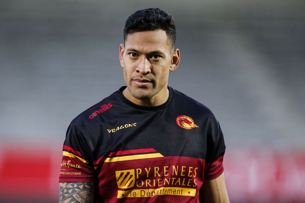 Israel Folau was set to retire from rugby before new Catalans Dragons deal