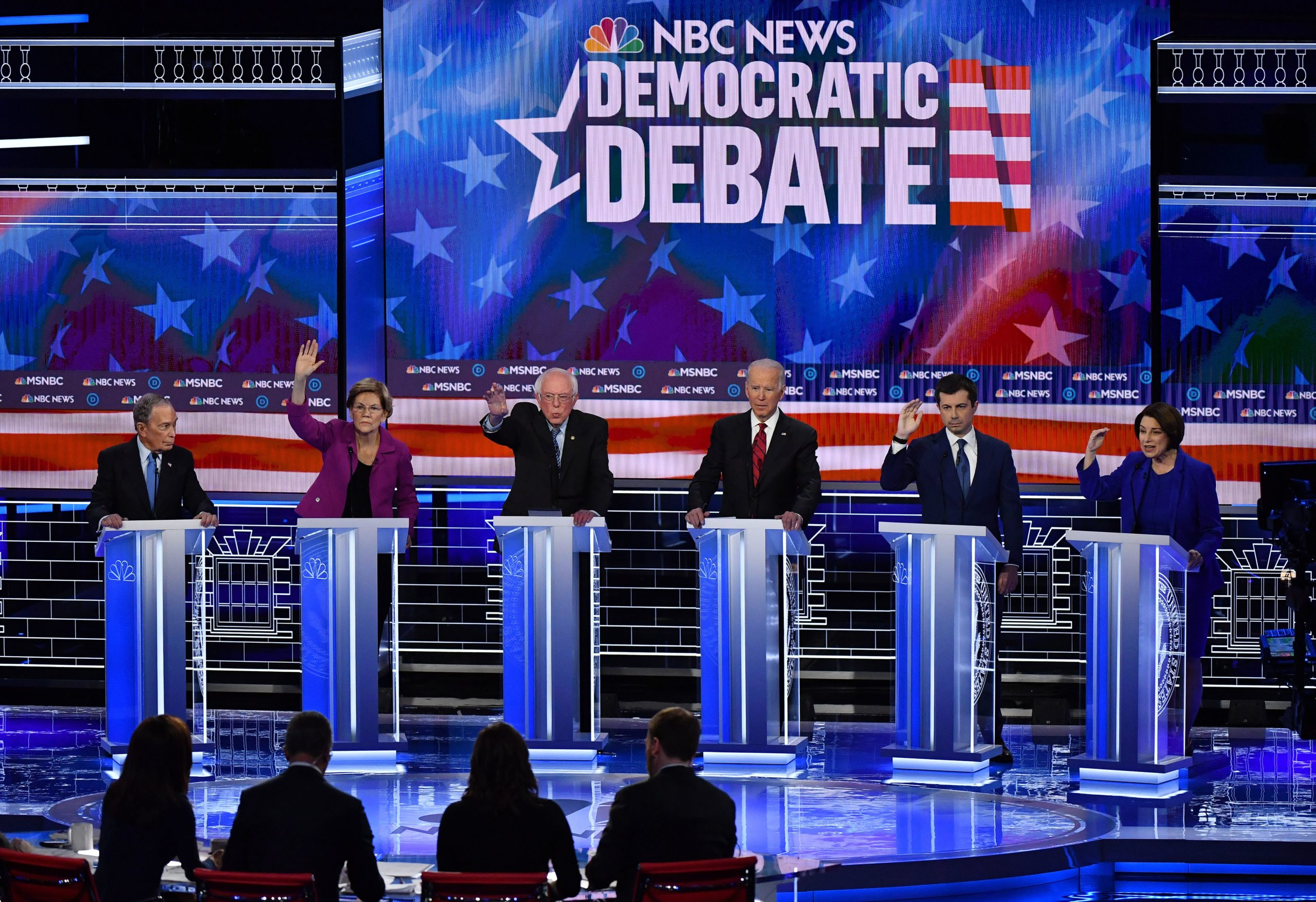 Military: Democratic presidential hopefuls Mike Bloomberg, Elizabeth Warren, Bernie Sanders, Joe Biden, Pete Buttigieg and Amy Klobuchar have all pledged to repeal the ban