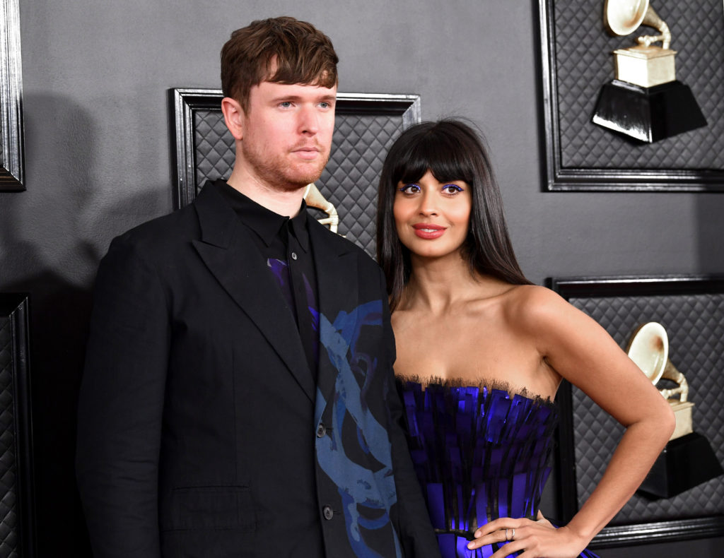 James Blake breaks his silence to defend Jameela Jamil from 'disgusting' accusations that she faked her illnesses