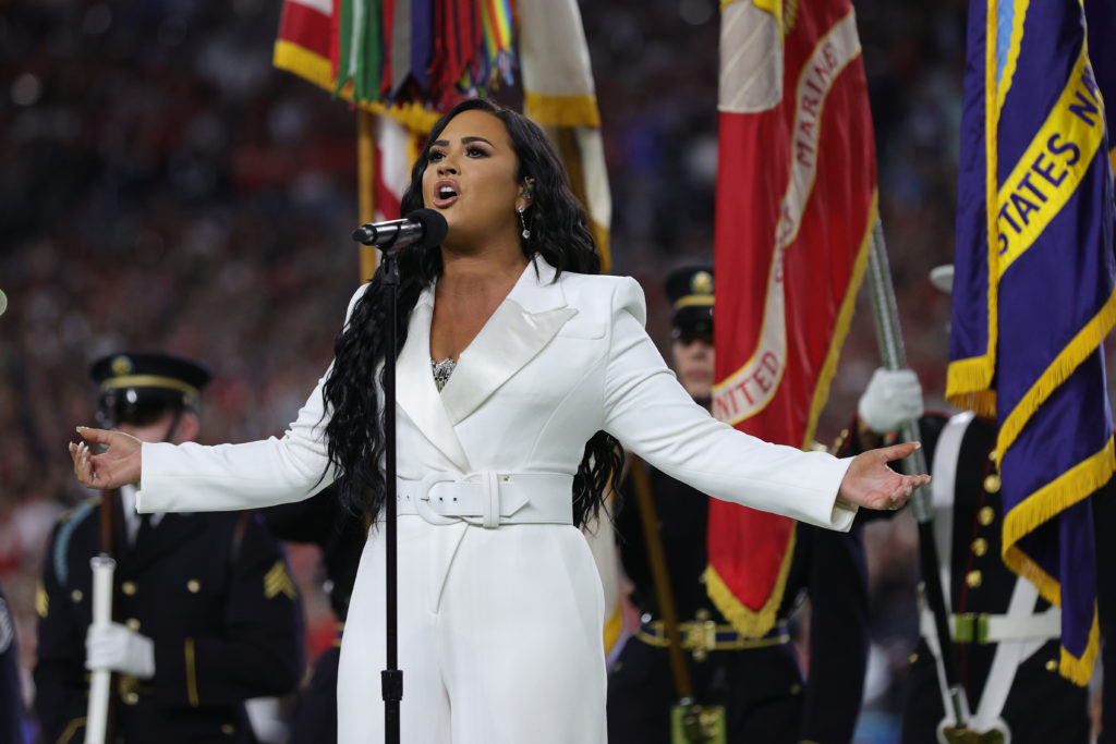 Demi Lovato predicted her stunning Super Bowl performance 10 years ago