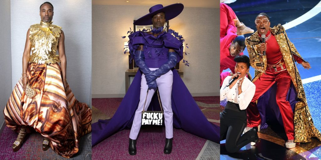 Billy Porter's three Oscars looks