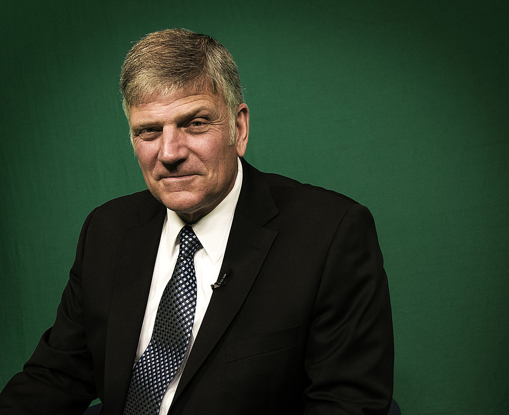 Evangelical anti-LGBT preacher Franklin Graham