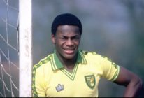 Justin Fashanu of Norwich City. (Allsport UK /Allsport/Getty Images)