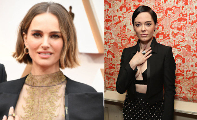Rose McGowan slams Natalie Portman's Oscars tribute to female filmmakers as 'deeply offensive'