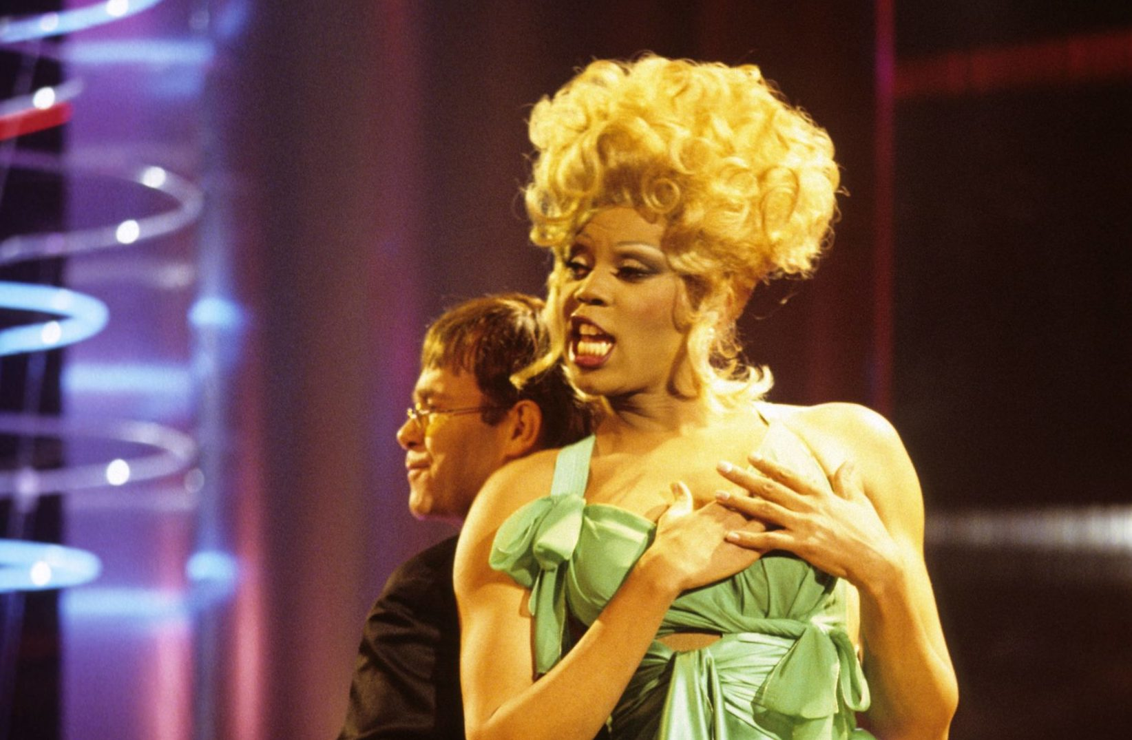Remembering Elton John and RuPaul's iconic Brit Awards performance from 1994
