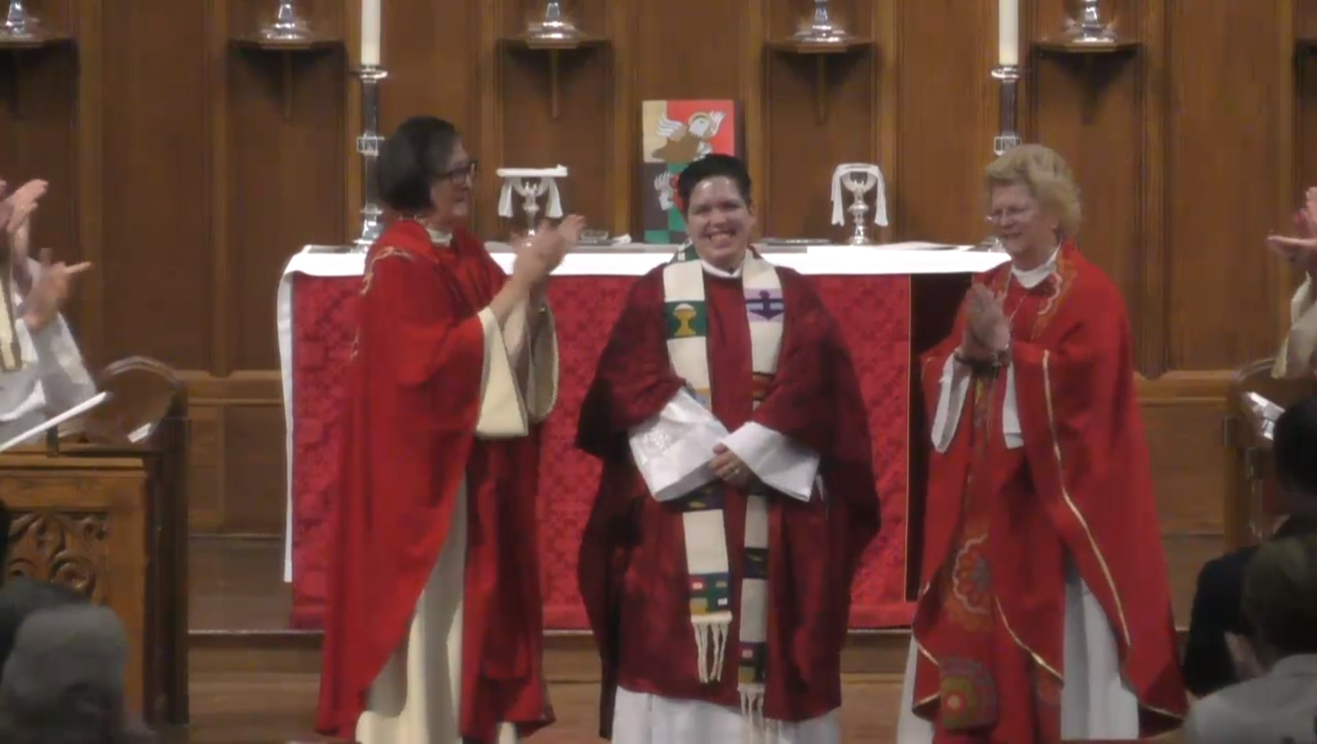Non-binary Catholic priest Rev. Kori Pacyniak, the newly-ordained pastor of San Diego's Mary Magdalene Apostle Catholic Community