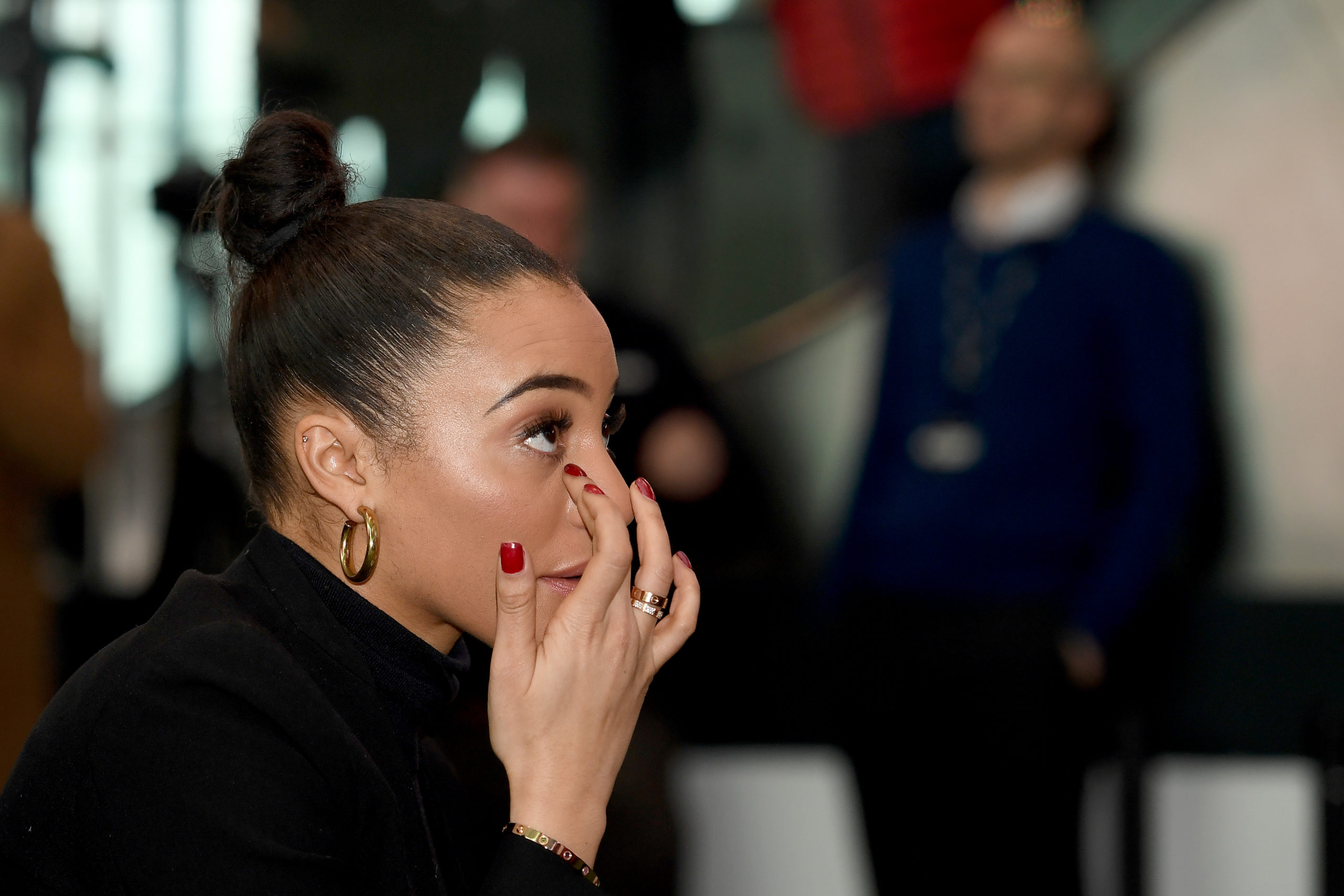 Amal Fashanu, Justin Fashanu's niece, received the the award on his behalf